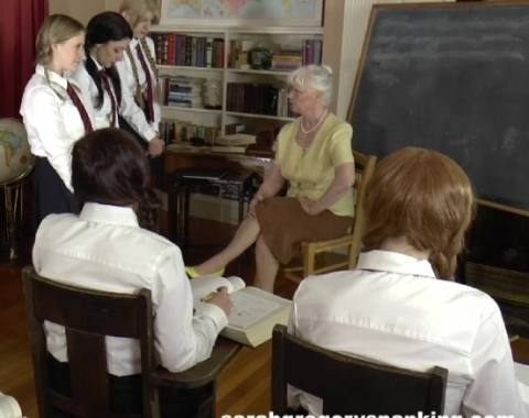 spanked in class